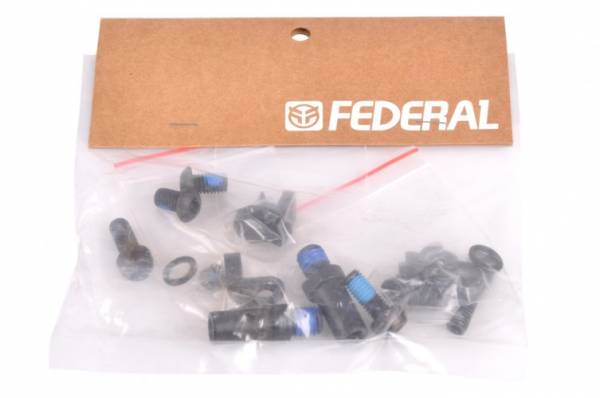 FEDERAL BRAKE MOUNT KIT Black