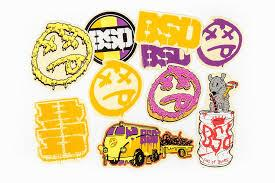 BSD STICKERS 2016 DESIGNS 10-PACK