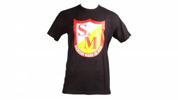 S&M T-SHIRT OG SHIELD Black