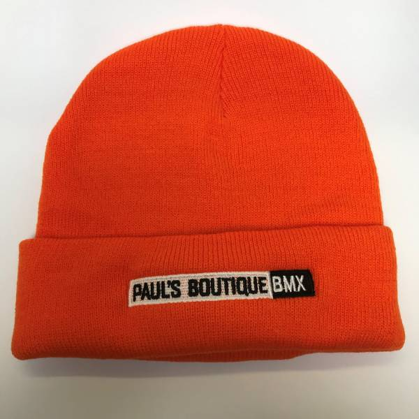 PAULSBOUTIQUEBMX BEANIE Orange