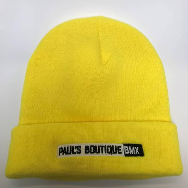 PAULSBOUTIQUEBMX BEANIE Yellow