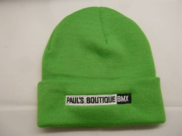PAULSBOUTIQUEBMX BEANIE Light Green
