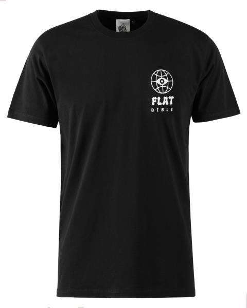 FLATBIBLE T-SHIRT! XL (XTRA LARGE) Black only