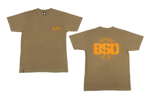 "BSD T-SHIRT ""ESTABLISHED"" Surplus Green"