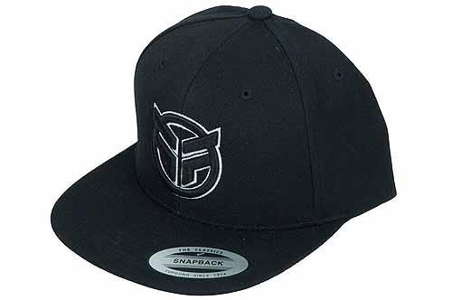 FEDERAL HAT SNAPBACK Black/White Logo