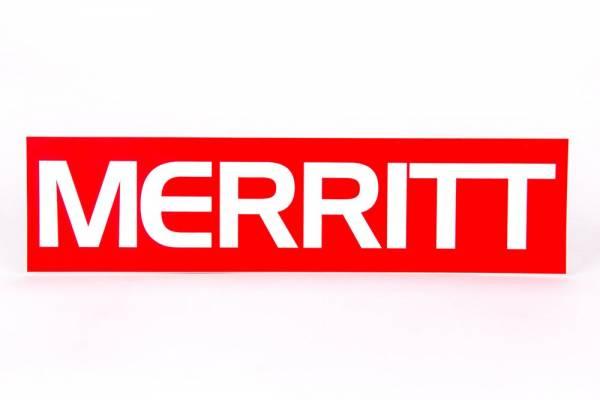 MERRITT STICKER FRAME Red