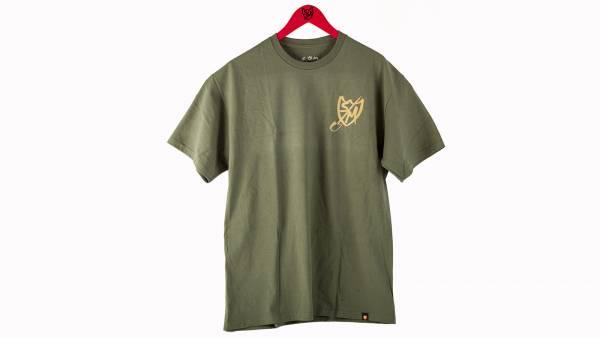 S&M T-SHIRT SHOVEL SHIELD Military Green