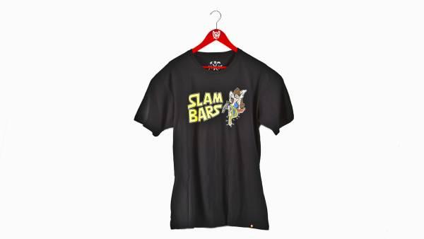 S&M T-SHIRT SLAM BAR MAN Black