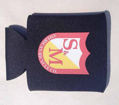 S&M KOOZIE COOLIE BEER COOLER EACH Black