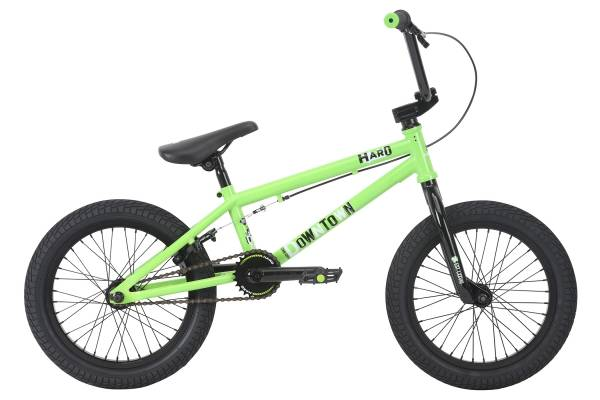 """2018 HARO DOWNTOWN 16"""" Lime Green (STOCK)"""