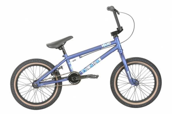 "HARO DOWNTOWN 16"" BIKE Matte Blue (STOCK)"