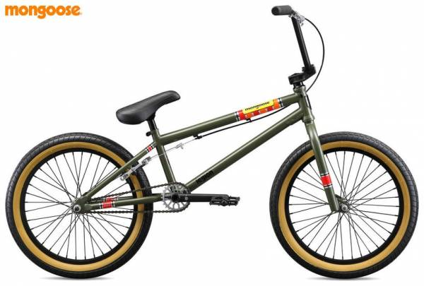 2019 MONGOOSE L100 Army Green (STOCK)