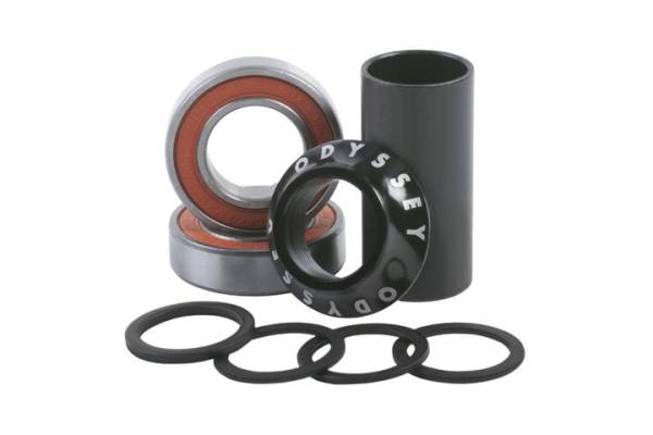 ODYSSEY MID BOTTOM BRACKET 22MM Black