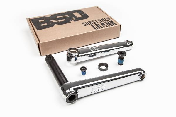 BSD SUBSTANCE CRANKS 175mm chrome