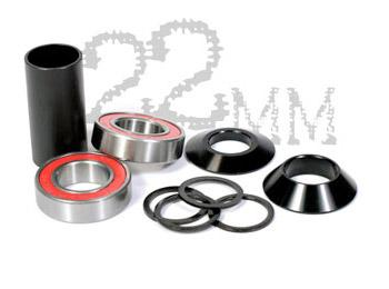 S&M MID BOTTOM BRACKET 22mm Black