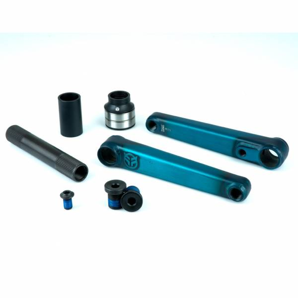 FEDERAL VICE CRANKS 24mm axle 175mm Clear Teal