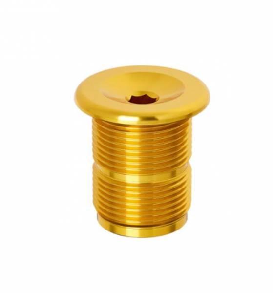 S&M FORK TOP CAP ALLOY M24 x 1.50 Gold