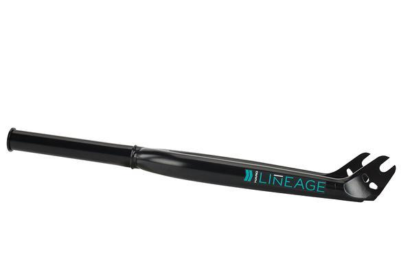 HARO FORK LINEAGE INVESTMENT CAST 33mm OFFSET Black