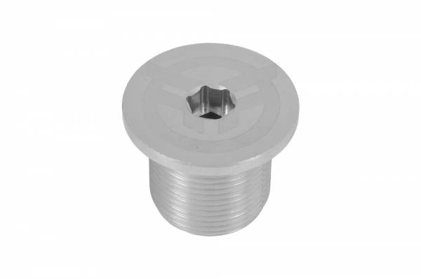 federal fork top cap H24 raw/silver