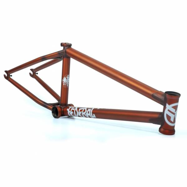 "FEDERAL FRAME 21.0""TT BRUNO V2 Matt Clear Burnt Orange"