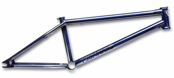 "PROPER FRAME TECMATIK 21"" PAINTED BLUE CHROME"