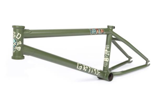 "BSD FRAME 21.0""TT GRIME Military Green NEW!"