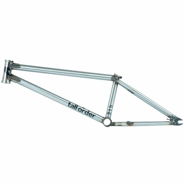 "TALL ORDER FRAME 21.25""TT ""315"" V2 NEW! Gloss Raw"
