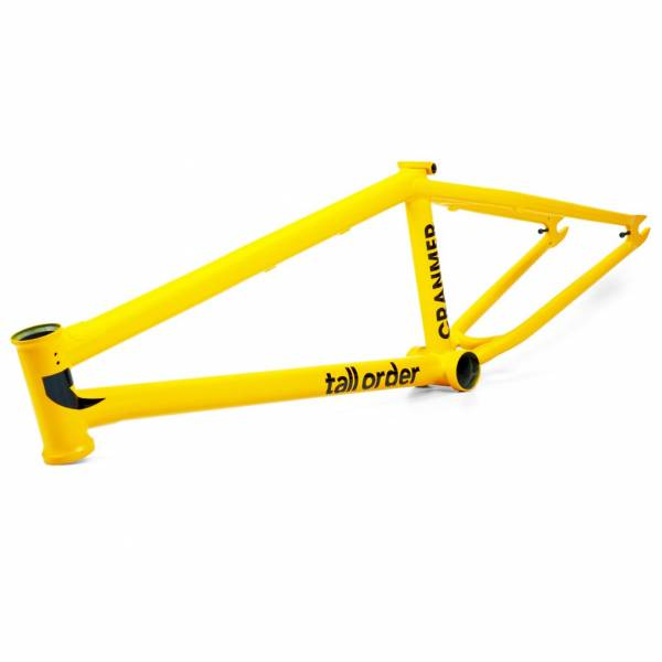 "TALL ORDER ""215"" FRAME 21.0""TT V2 CRANMER Matt Yellow"