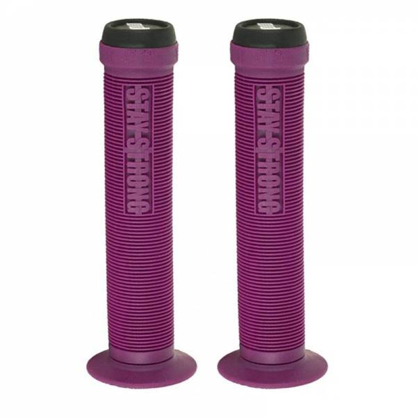 ODI GRIPS STAY STRONG FLANGED SOFT Purple