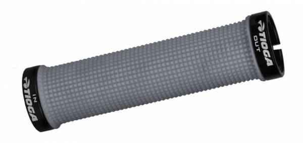 TIOGA SLIM LOCK ON GRIPS Light Grey