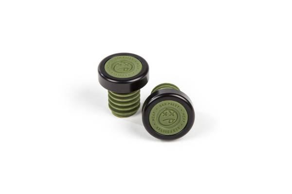 BSD BAR ENDS M-CAPS Surplus Green