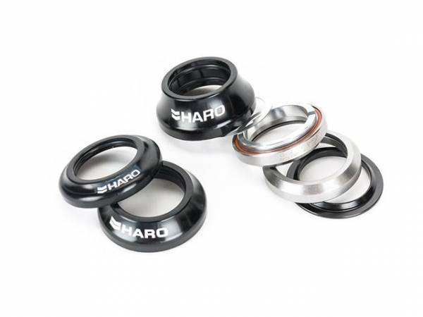 HARO HIDDENSET 45/45 LOW/MIDDLE/HIGH CAP Black