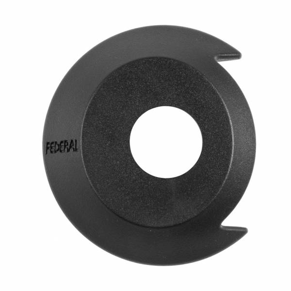 FEDERAL HUB GUARD DRIVE SIDE PLASTIC Black