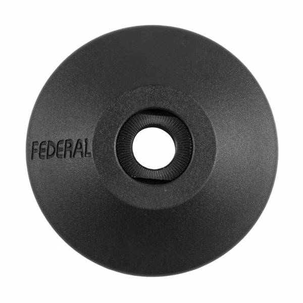 FEDERAL HUB GUARD NON-DRIVE PLASTIC + ADAPTOR Black