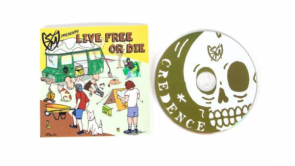 S&M DVD CREDENCE LIVE FREE OR DIE! Silver