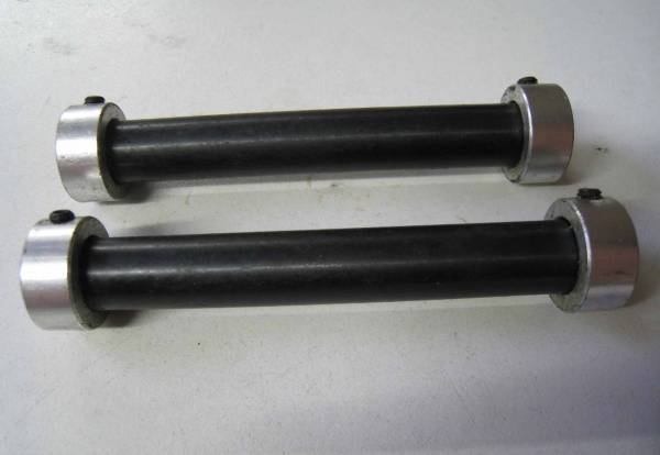 HUB AXLE FOR BULLS EYE FRONT HUB NOS EACH Black
