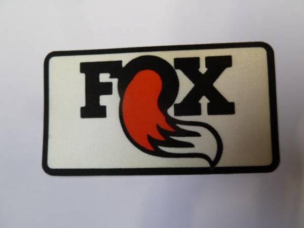 "OLD SCHOOL STICKER ""FOX"""