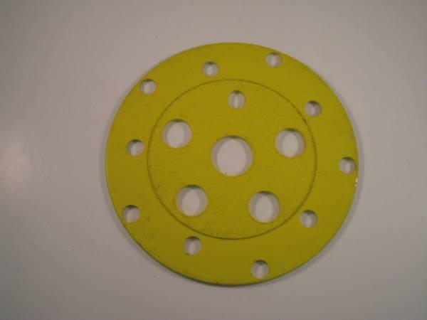 CHAIN WHEEL SPIDER DISC Yellow