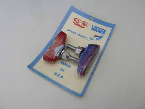 BRAKE PADS VANS KOOL STOP NEW Blue/White/Red