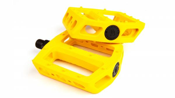 "FIT PEDALS MAC PC 9/16"" Yellow"