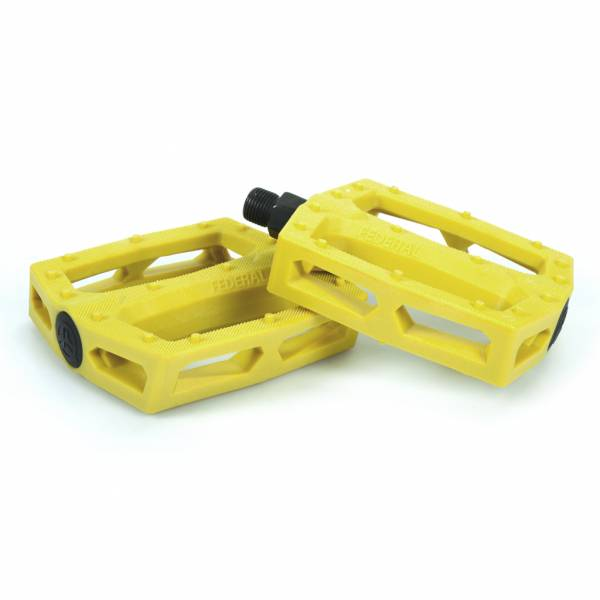 """FEDERAL PEDALS PC COMMAND 9/16"""" Yellow"""