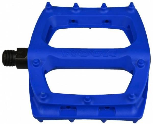 "TIOGA BMX SUREFOOT PLASTIC PEDALS 9/16"" Blue"