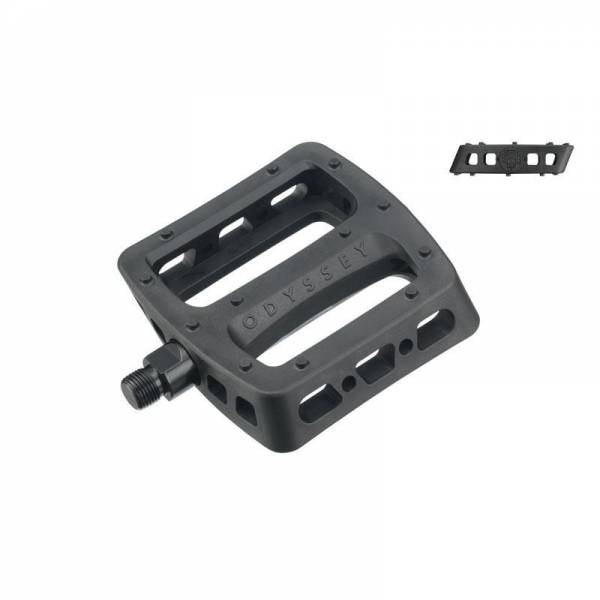 """ODYSSEY TWISTED PRO PEDALS 9/16"""" FOR 3-PIECE CRANKS Black"""