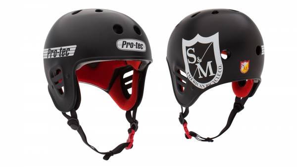 S&M HELMET BY PROTEC Black