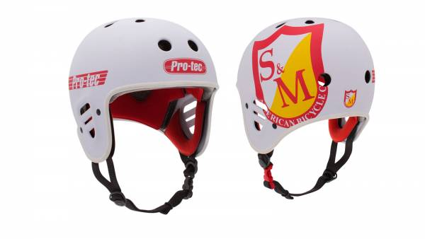S&M HELMET BY PROTEC White