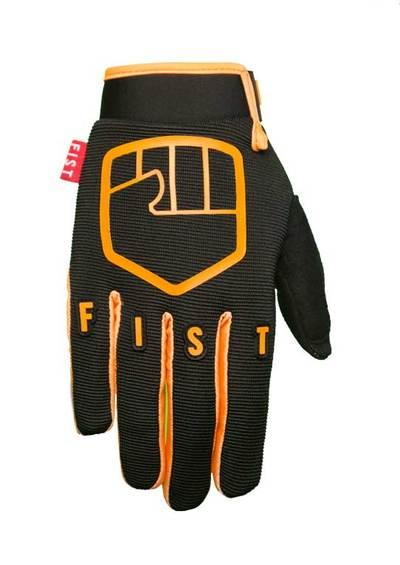 FIST GLOVES ROBBIE MADDISON HIGHLIGHTER XL Black/Orange