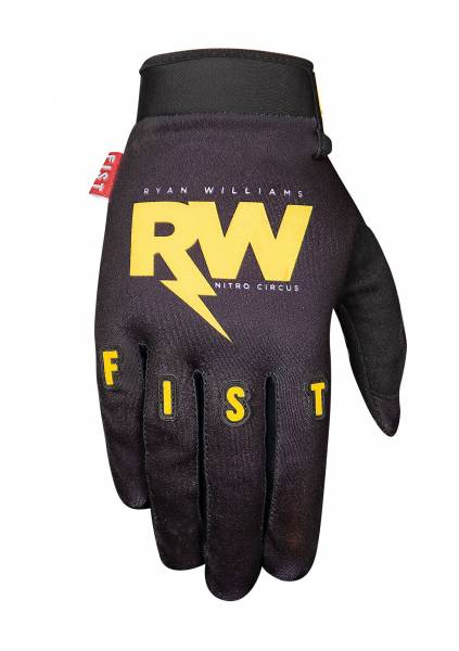 FIST GLOVES 12 RW RYAN WILLIAMS YOUTH SIZE Black/Orange