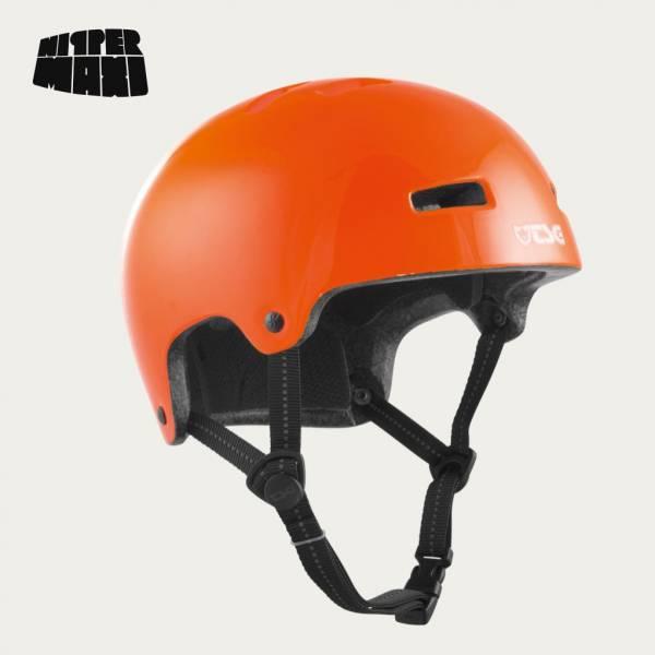 TSG HELMET NIPPER MAXI SOLID COLOR XXS/XS Gloss Orange