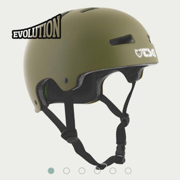 TSG HELMET EVOLUTION SOLID COLOR S/M Satin Olive