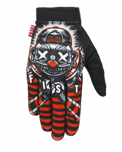 FIST GLOVES COLEBORN Black/White/Red